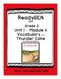 ReadyGEN Thunder Cake Vocabulary Cards
