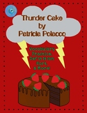 Thunder Cake Vocabulary Practice, Definition Sort, & More!