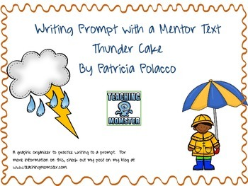 Thunder Cake Writing Prompt