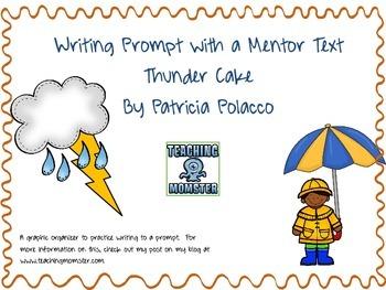 Thunder Cake Writing Prompt