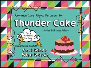 Thunder Cake by Patricia Polacco
