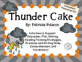 Thunder Cake by Patricia Polacco:    A Complete Literature Study!
