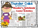 Thunder Cake by Patricia Polacco {Book Study and Center Activities}
