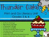 Novel Study:  Thunder Cake by Patricia Polacco