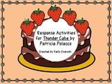 Thunder Cake by Patricia Polacco - Response Activities