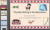 Thunder Rolling in the Mountains Literature Book Vocabulary Guide with pictures