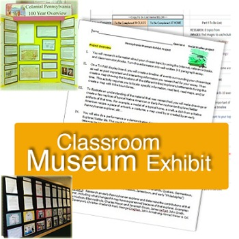 Classroom Museum Exhibits - Native American Tribes & Early Explorers