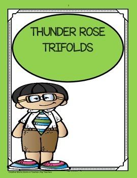 Thunder Rose ( 5th Grade) Tri-Folds