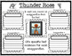 Thunder Rose Tall Tale Text-Based Graphic Organizers and W