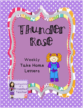 Thunder Rose Weekly Take Home Letters (Scott Foresman Read