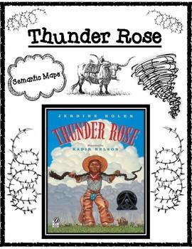 Thunder Rose by Jerdine Nolen Semantic Maps