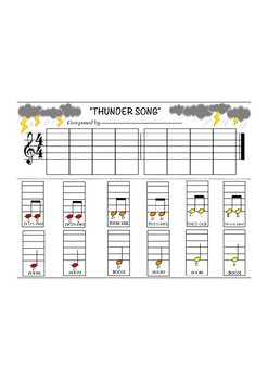 Thunder Song - Composing Project - do, re, mi