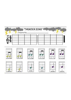 Thunder Song - Composing Project - mi, sol, la