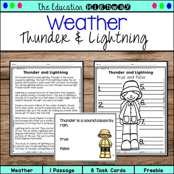Weather Freebie Sampler