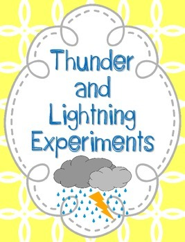 Thunder and Lightning Station Investigations {Mini Hands On Labs}