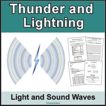 Thunder and Lightning Sound and Light Waves
