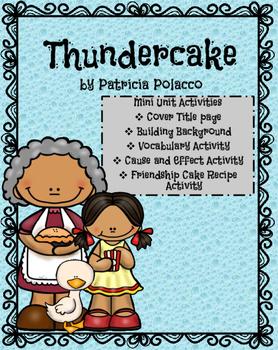 Thundercake: A mini unit of activities