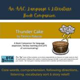 Thundercake: A Printable AAC, Language & Literacy Set