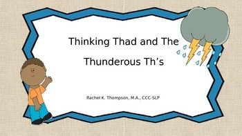 "Thunderous Thad ""Th"""