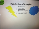 Thunderstorm Strategies! Social Stories and Coping Skills for Thunderstorms!