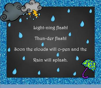 "Thunderstorm! Weather Song for Practicing ""Do-Re-Mi""/""Ta-a"" Intro. - PDF ED."