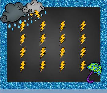 "Thunderstorm! Weather Song for Practicing ""Do-Re-Mi""/""Ta-a"" Intro. PPT ED."