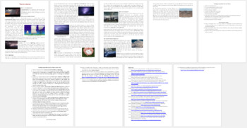 Thunderstorms Reading Comprehension Article - Grade 8 and Up