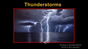 Thunderstorms (some animations)