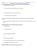 Thunderstorms, tornadoes, and hurricanes. Storms webquest (with answer key)