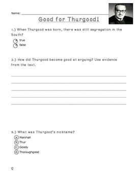 Thurgood Marshal - Level Q