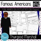 Thurgood Marshall- NO PREP Mini Unit {Famous Americans}