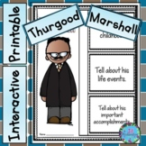 Thurgood Marshall Writing - Great  Black History Month Activity