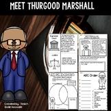 Thurgood Marshall Close Reading Passage and Activities