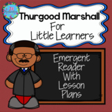 Thurgood Marshall Activities Black History Month Kindergar