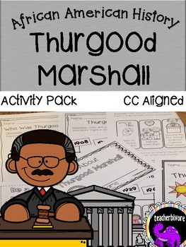 Thurgood Marshall Activity Pack