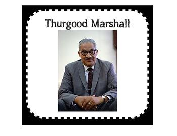 Thurgood Marshall Activity Sets