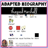 Thurgood Marshall Adapted Biography for Black History Month