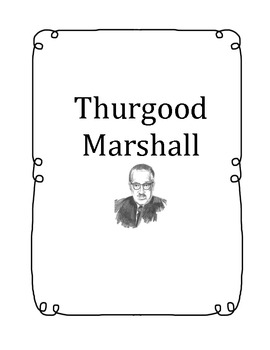 Thurgood Marshall - American Hero (Houghton Mifflin Series)