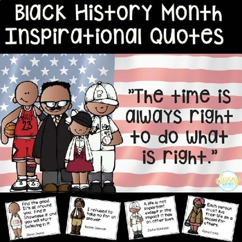 Black History Month Inspirational Quotes By Sunny And Bright In Primary Inspiration Black History Month Quotes