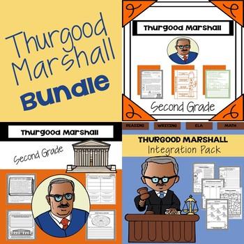 Thurgood Marshall Bundle (2nd Grade)