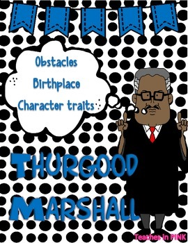 Thurgood Marshall {Character Man}