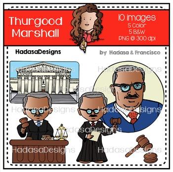 Thurgood Marshall Clip Art Mini Combo Pack