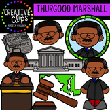 Thurgood Marshall Clipart {Creative Clips Clipart}