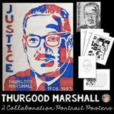 Thurgood Marshall Collaboration Poster - Great Black History Month Activity
