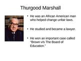 Thurgood Marshall, Equality