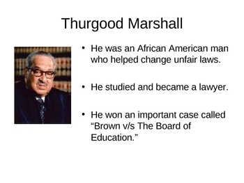 Thurgood Marshall, Equality