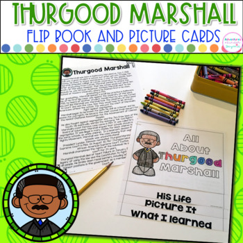 Thurgood Marshall- Flip Book and Vocab Cards