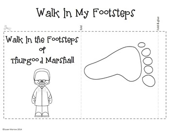 Thurgood Marshall Folding Fun and Graphic Organizer Freebie!