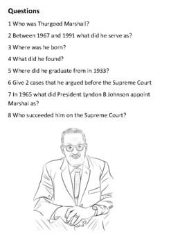 Thurgood Marshall Handout