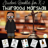 Thurgood Marshall Black History Month Student Booklet & Retelling Puppets
